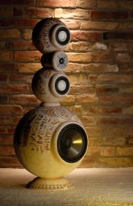 Egyptian style High-End speaker