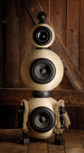 African style hand-made speaker