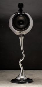Chrome coating design loudspeaker