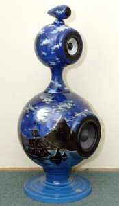 Hand-painted Design Loudspeaker