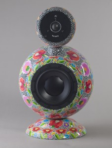 Hand painted design loudspeaker